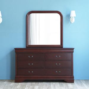 유캐슬 앨리사 화장대세트(화장대+거울)